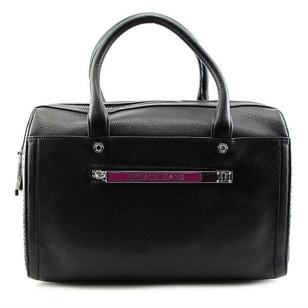 Versace Jeans Couture E1VMBBZ3 Women Synthetic Satchel - Black