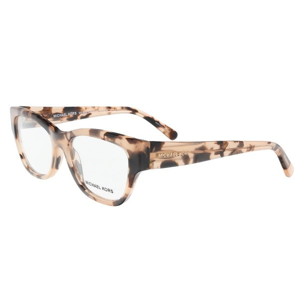 michael kors mk4037 3026 51 opal pink havana square optical frames 51 16 - Mk Glasses Frames