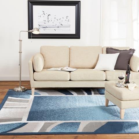 Home Dynamix Premium Rizzy Contemporary Border Area Rug