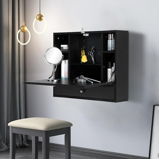 Link to Wall-mounted Floating Laptop Desk Similar Items in Computer Desks