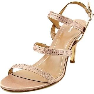 Style & Co Urey Women Open Toe Synthetic Tan Sandals