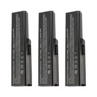 Replacement For Toshiba PA3634U-1BRS Laptop Battery (5200mAh, 10.8V, Lithium Ion) - 3 Pack