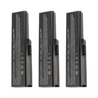 Replacement For Toshiba PA3728U-1BRS Laptop Battery (5200mAh, 10.8V, Lithium Ion) - 3 Pack