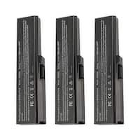 Replacement For Toshiba PA3817U-1BAS Laptop Battery (5200mAh, 10.8V, Lithium Ion) - 3 Pack