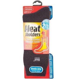 Heat Holders LHHORGCHA Ladies Thermal Socks, Gray