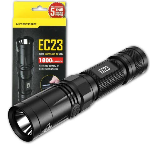 NITECORE EC23 1800 Lumen Compact High Performance LED Flashlight