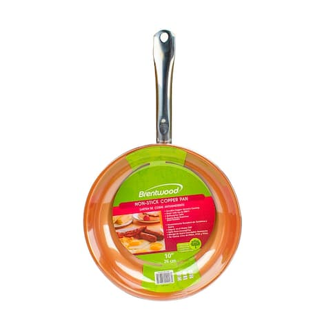 Brentwood BFP-326C 10-inch Non-Stick Induction Copper Frying Pan