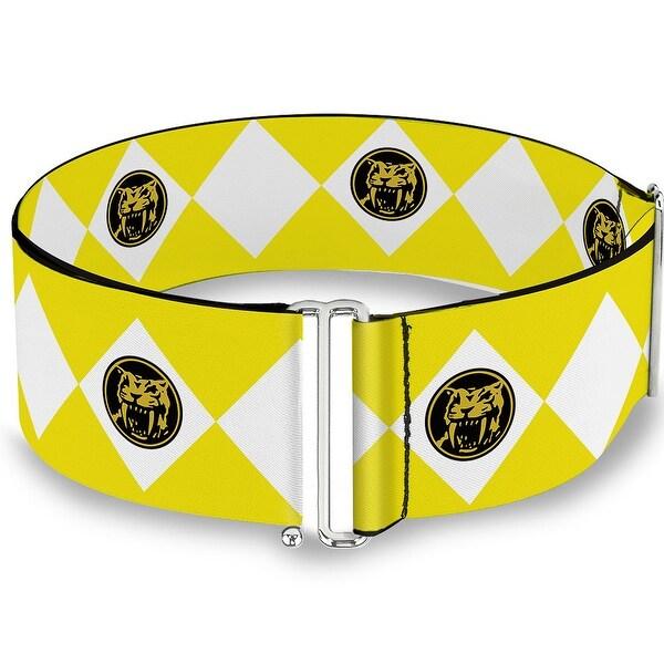 Diamond Yellow Ranger Cinch Waist Belt ONE SIZE