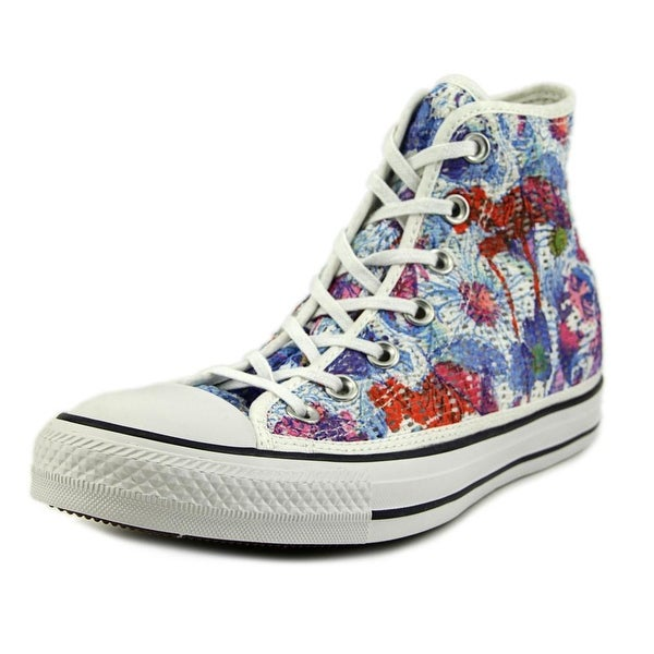 b34cfded8afbbd Converse Chuck Taylor All Star Print Hi Women Canvas Multi Color Sneakers