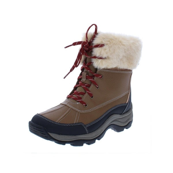 Clarks Womens Mazlyn Arctic Winter Boots Leather Ankle