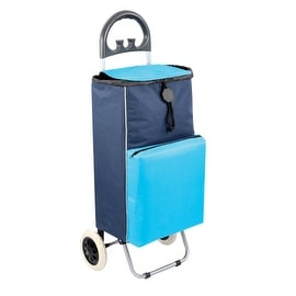 Shopping Cart Cooler in Blue