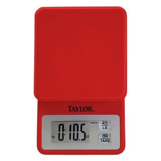 Taylor Precision Products Compact Digital Scale (Red)