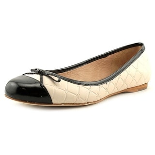 Jack Rogers Lively Women Round Toe Leather Flats