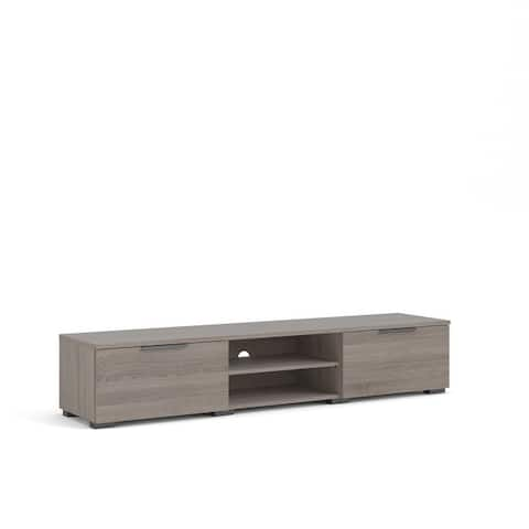 Porch & Den Match 2-Drawer and 2-Shelf TV Stand