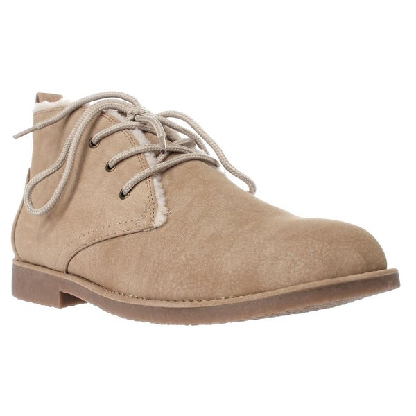 Seven Dials Mallori Winter Ankle Booties, Natural
