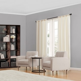 Link to Eclipse Kendall Blackout Window Curtain Panel Similar Items in Window Treatments