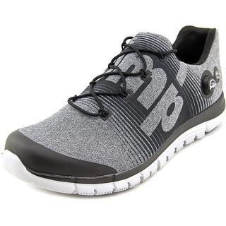 Reebok ZPump Fusion Men Round Toe Synthetic Gray Running Shoe