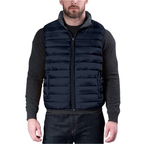 Hawke & Co. Mens Packable Quilted Vest