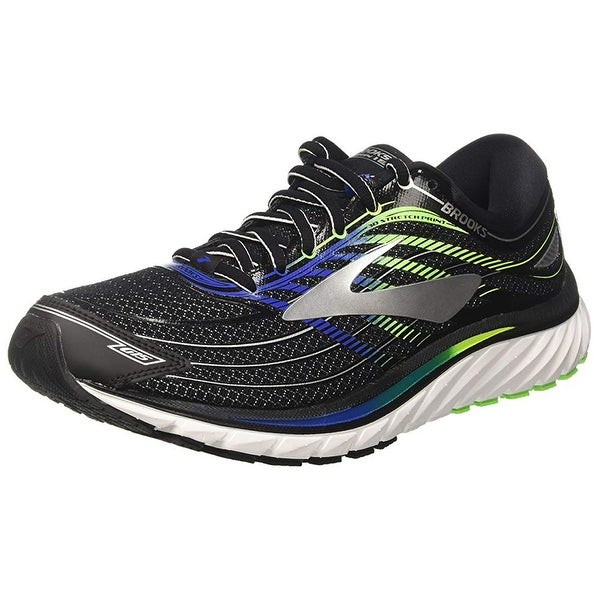 d58b91d293ac Shop Brooks Men s Glycerin 15 Black Electric Blue Green Gecko 10 D ...