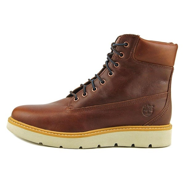 Round Toe Leather Hiking Boot