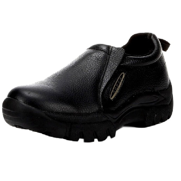 Roper Western Shoes Mens Wide Slip On Black