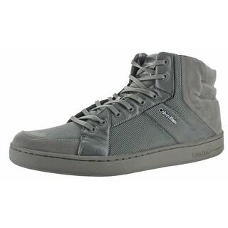 Calvin Klein Men's Nickolai Suede Fashion Sneaker Shoe