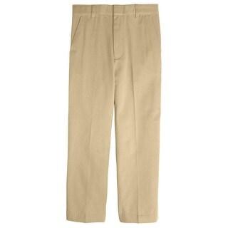 French Toast Boys 8-14 Adjustable Waist Double Knee Slim Pant