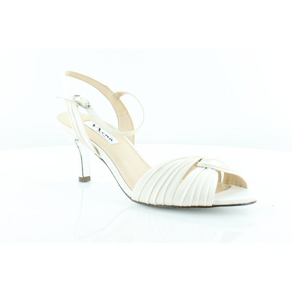 Nina Camille Women's Heels Ivory Luster - 8.5