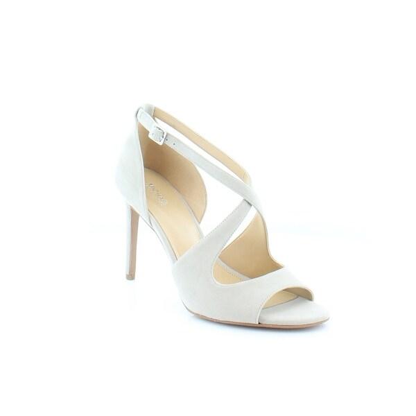 Michael Kors Estee Sandals Women's Heels Cement - 9