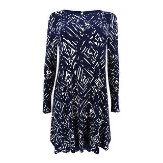 Lauren Ralph Lauren Women's Printed Jersey A-Line Dress (More options available)