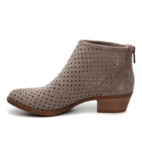 Lucky Brand Womens bergyn Suede Almond Toe Ankle Fashion Boots