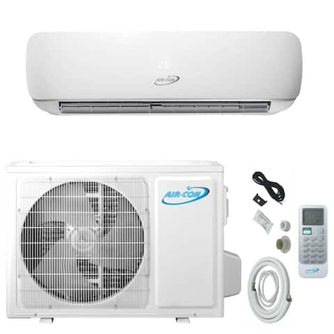Air-Con Blizzard Series 12000 BTU Ductless Mini Split 230V Air Conditioner