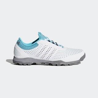 Adidas Women's Adipure Sport Blue Glow/Night Sky/Dark Silver Metallic Golf Shoes Q44740