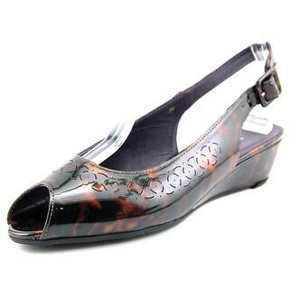 Vaneli Ethna N/S Open Toe Synthetic Wedge Heel