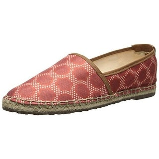 Sebago Womens Darien Canvas Printed Round-Toe Shoes