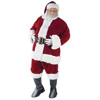 Santa Suit Ultra Plus Size Costume - Red