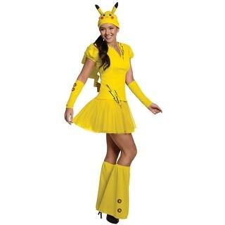 Rubies Female Pikachu Adult Costume - Yellow