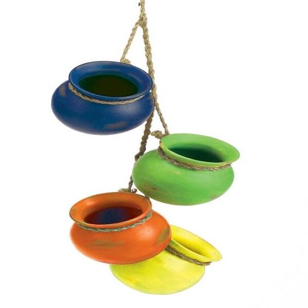 Fiesta Dangling Pots