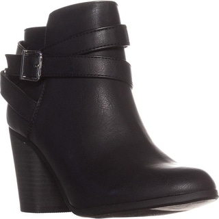 Link to Material Girl Womens Lexia Almond Toe Ankle Fashion Boots Similar Items in Women's Shoes