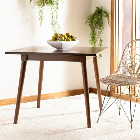 """SAFAVIEH Simone Square Dining Table -Walnut - 36"""" x 36"""" x 30.3"""""""