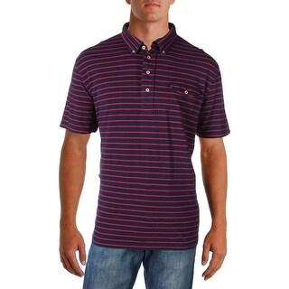 Polo Ralph Lauren Mens Polo Shirt Striped Casual