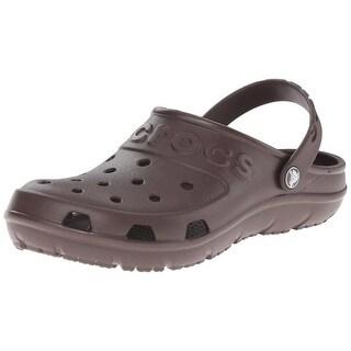 Crocs Womens Hilo Cut-Out Casual Clogs - 14