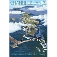 Channel Is CA Museum Natural History - LP Artwork (Art Print - Multiple Sizes)