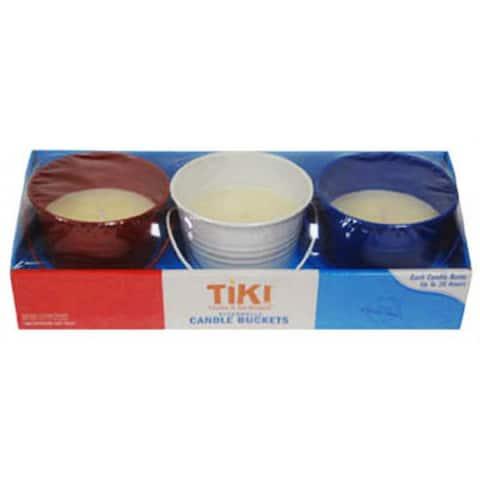 Tiki 1412121 Americana Mini Wax Bucket, 4 Oz