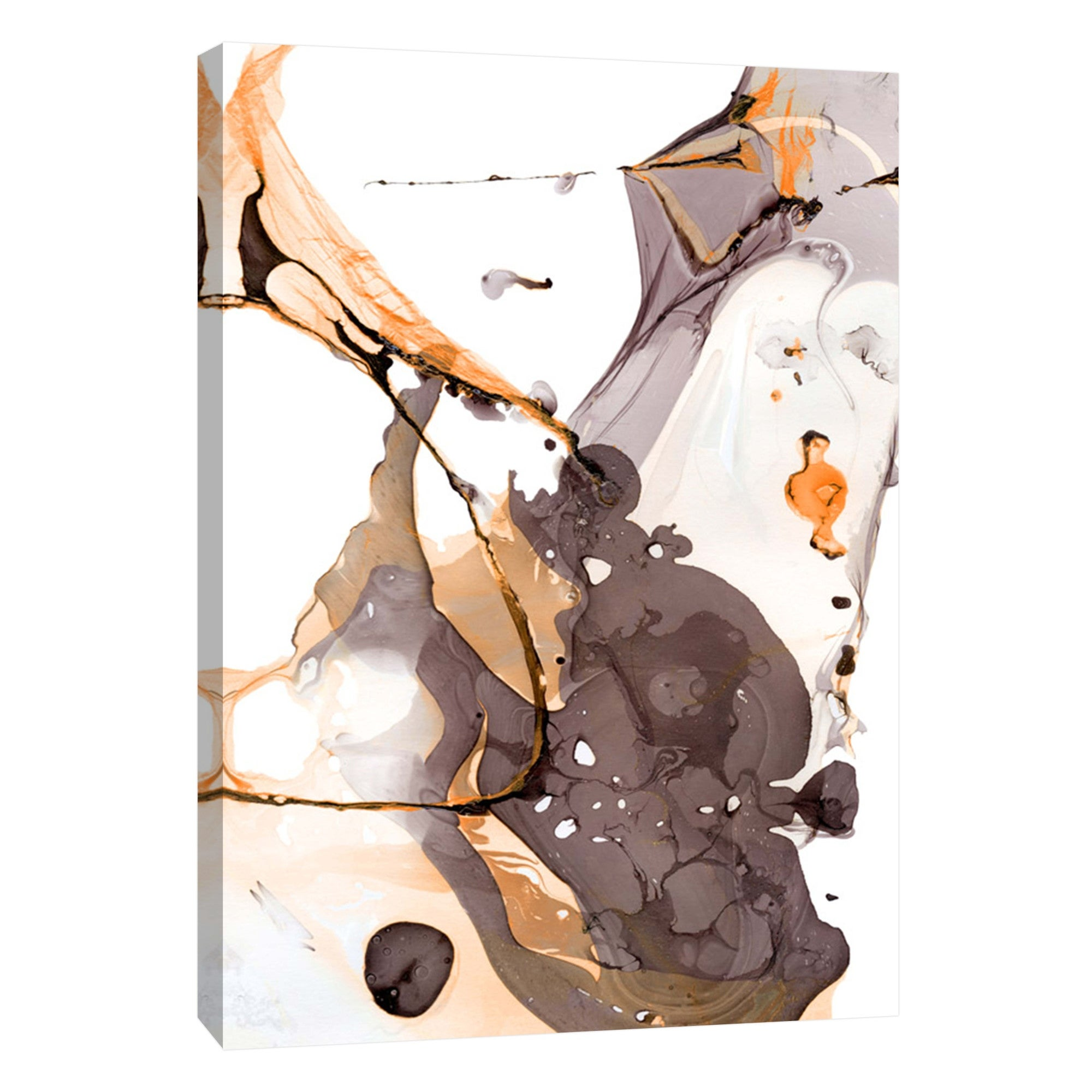 Shop Ptm Images 9 105826 Ptm Canvas Collection 10 X 8 Nail Polish Abstract E Iii Giclee Abstract Art Print On Canvas Overstock 28104665