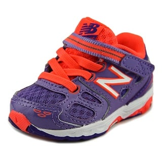 New Balance KR680 Infant  Round Toe Synthetic Purple Sneakers
