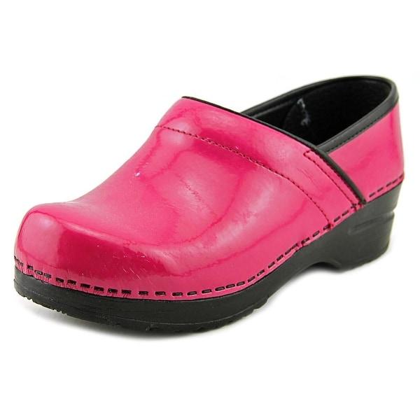 27d54d8a90ef Sanita Professional Patent Women Patent Leather Pink Nursing  amp  Medical  Shoe