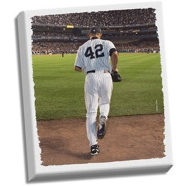 Mariano Entering Game Stretched 22x26 Canvas Uns