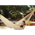 Sunnydaze Natural Colored Mayan Hammock & Hammock Stand - Thumbnail 3