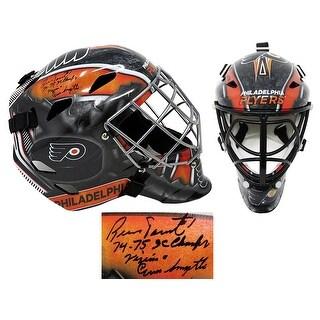 Bernie Parent Philadelphia Flyers Replica Hockey Goalie Mask W7475 Champs Vezina Conn Smythe